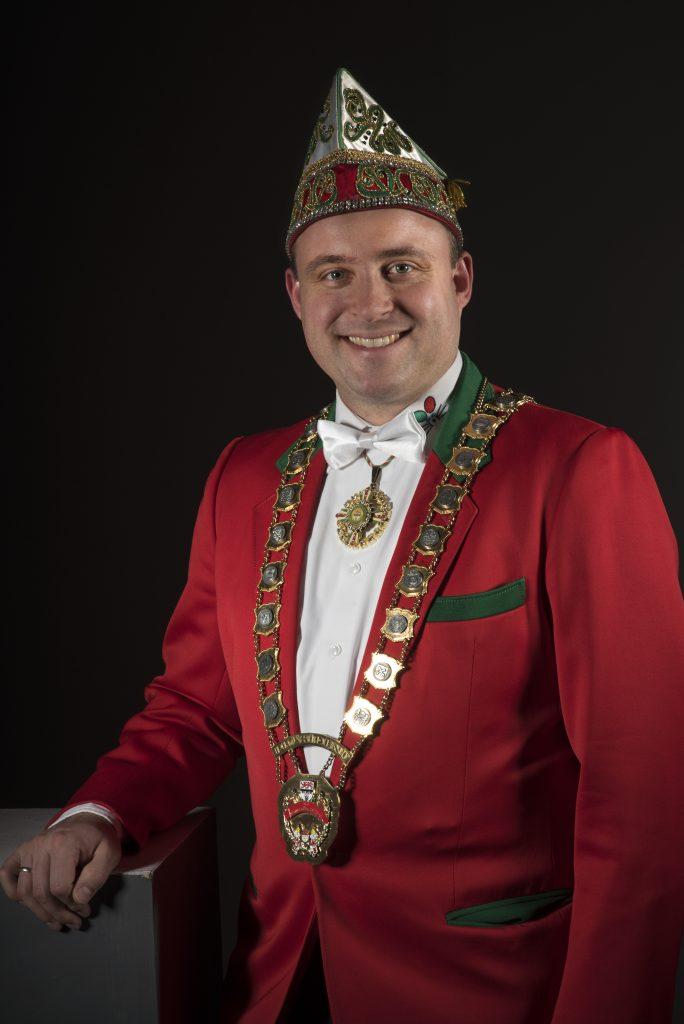 Präsident Dominik Becker